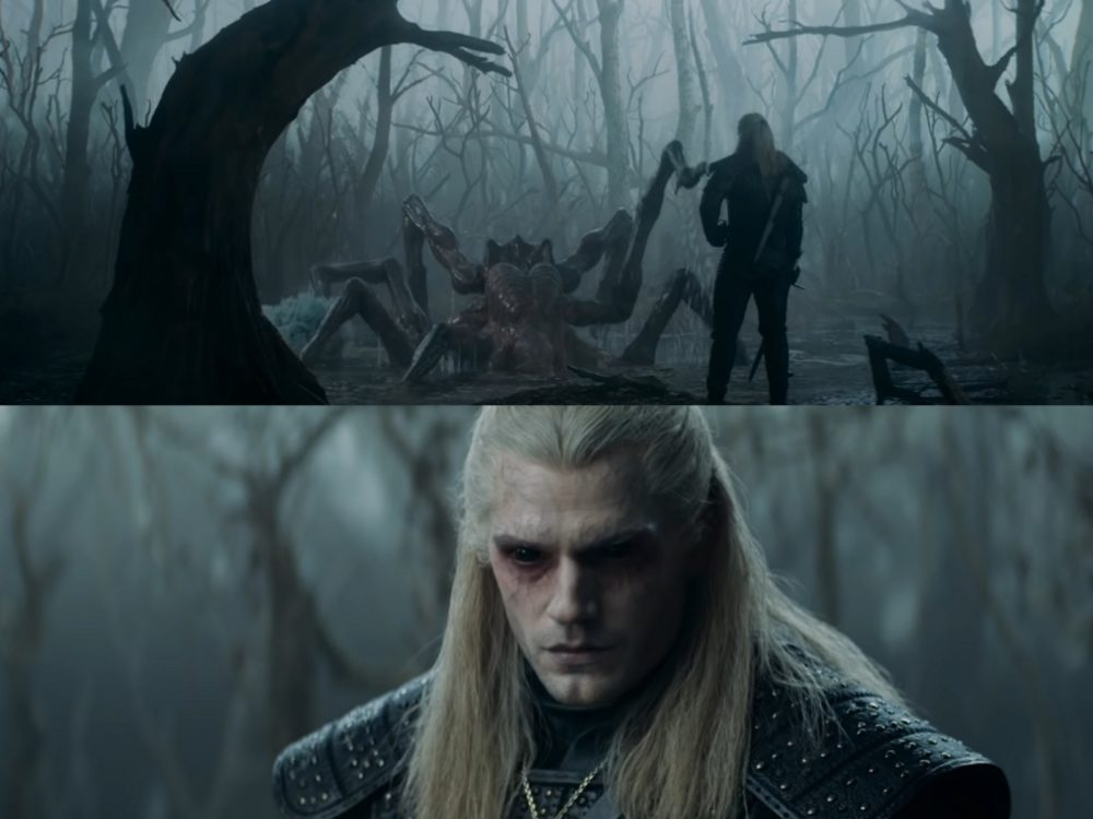 witcher wiedźmin trailer zwiastun cavill geralt monster