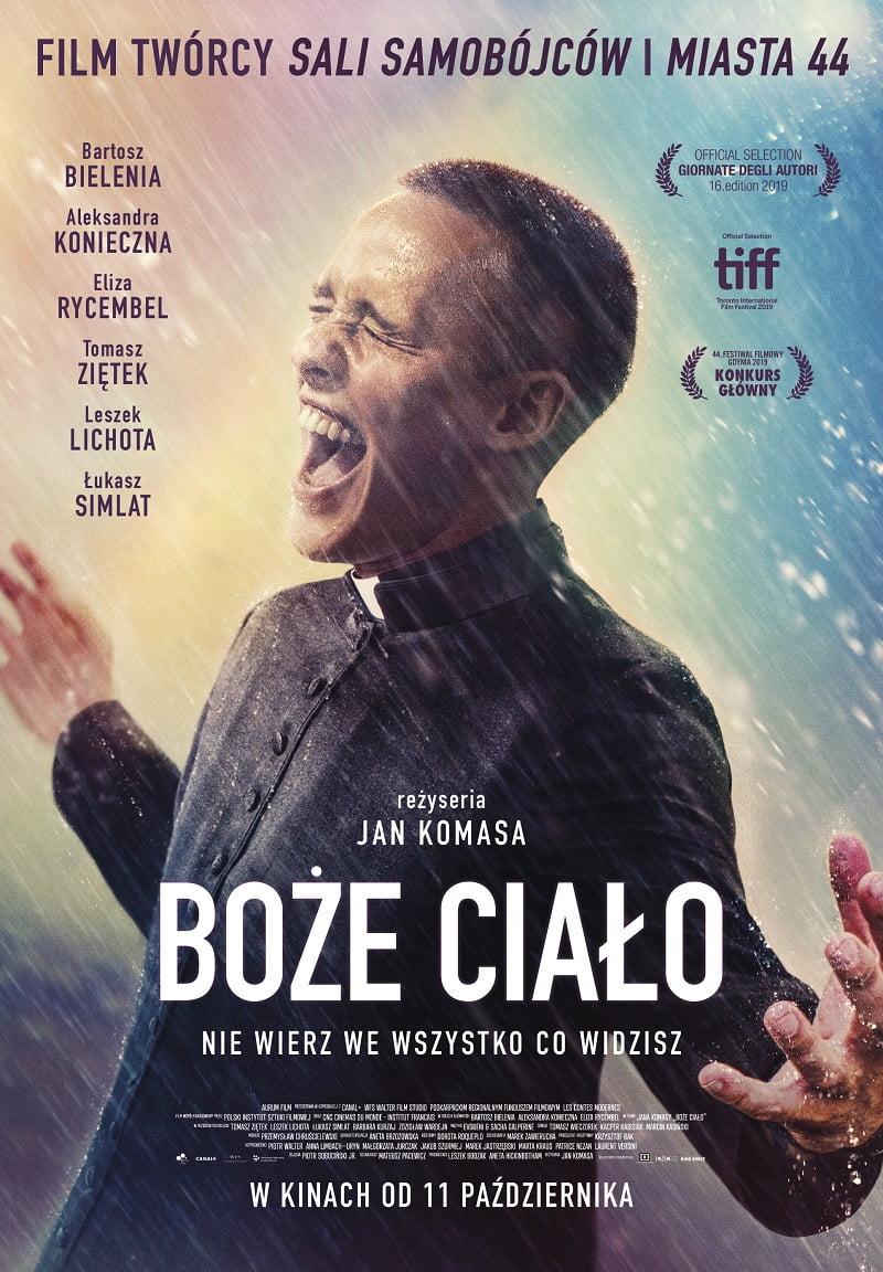 boże ciało polski plakat film komasa