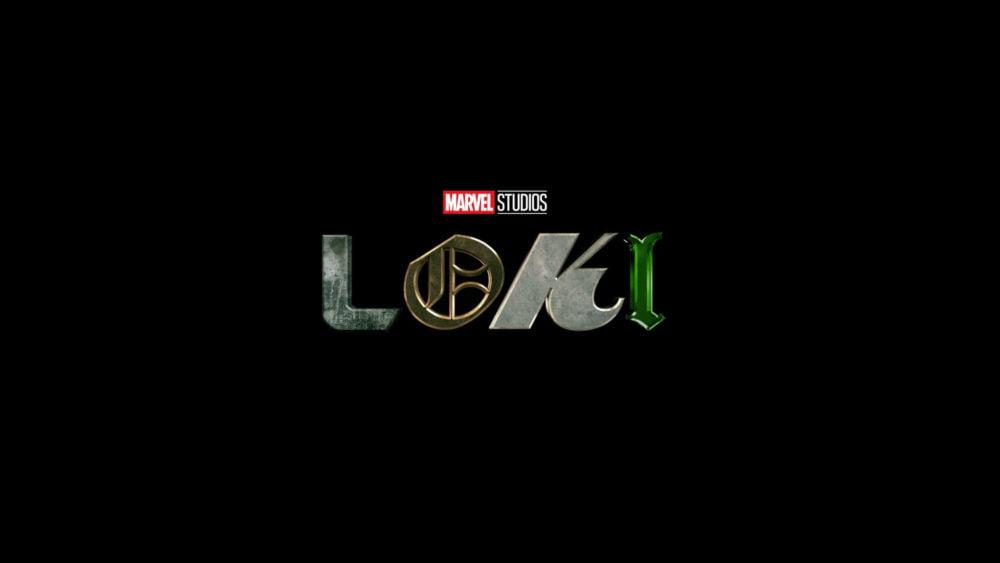 Oficjalne logo serialu Loki