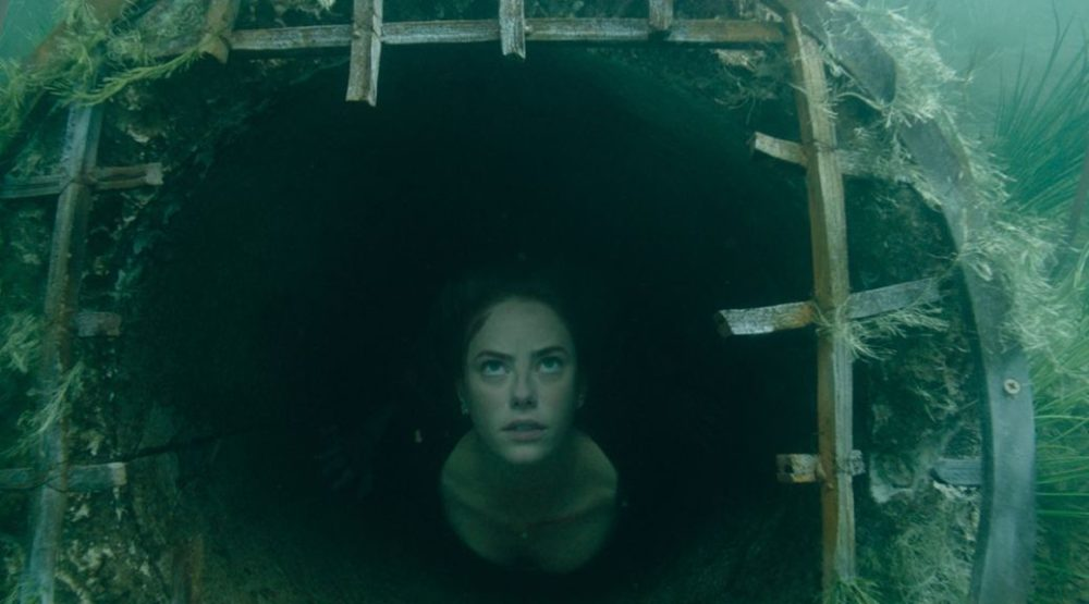 Kaya Scodelario w filmie Pełzająca śmierć / fot. materiały prasowe