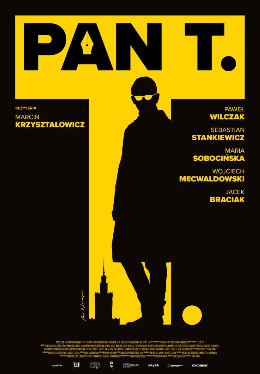Pan T plakat pągowski film