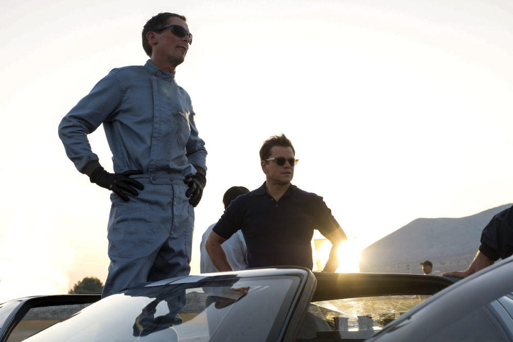 Christian Bale i Matt Damon w filmie Le Mans '66 / fot. materiały prasowe