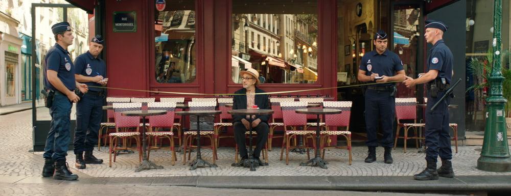 Kadr z filmu Tam gdzieś musi być niebo, reż. Elia Suleiman / fot. materiały prasowe