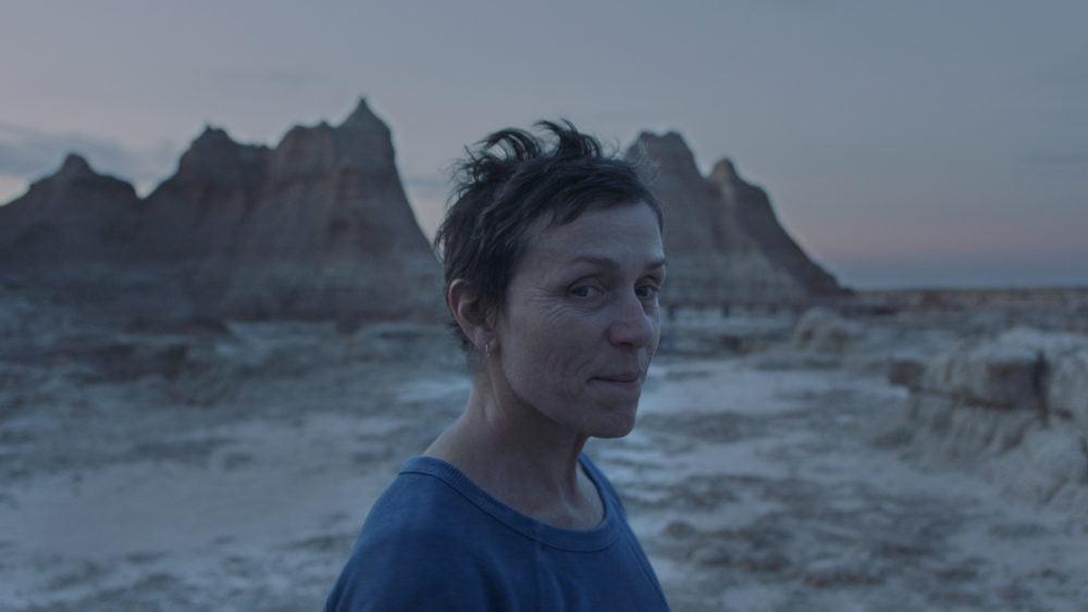 Frances McDormand w filmie NOMADLAND reżyserii Chloe Zhao