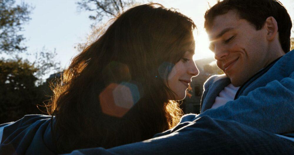 lily collins i sam claffin w filmie love rosie