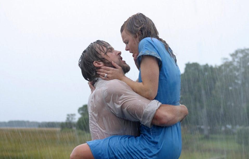 film pamiętnik pocałunek w deszczu