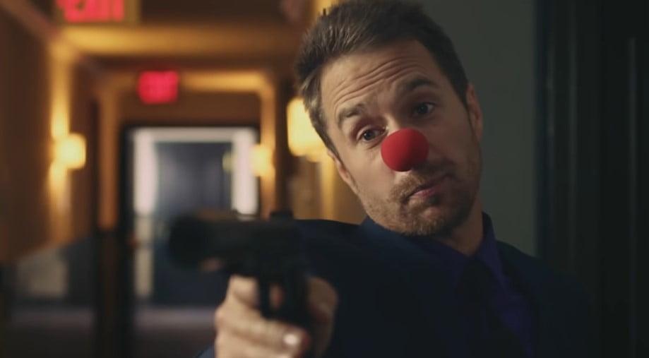 płatny zabójca klaun