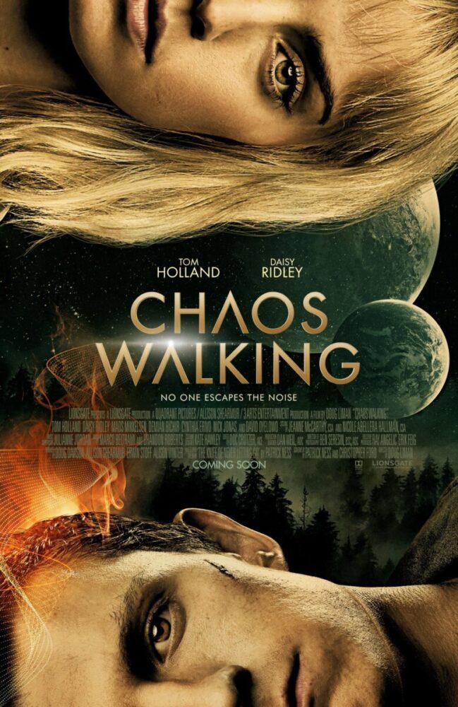 Chaos Walking - Tom Holland i Daisy Ridley na nowym plakacie długo oczekiwanego filmu