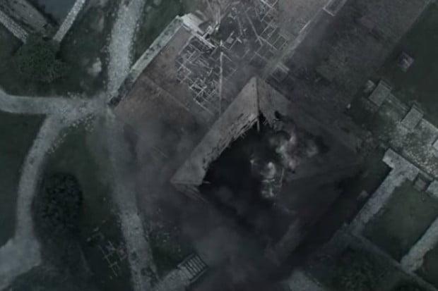 dżin w serialu wiedźmin jako dym