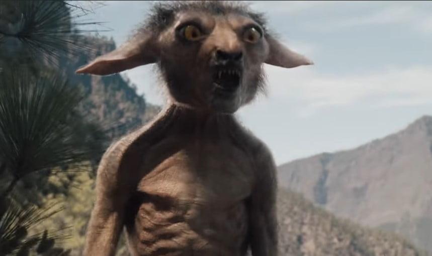 hirikka potwór wiedźmin serial netflix 2019
