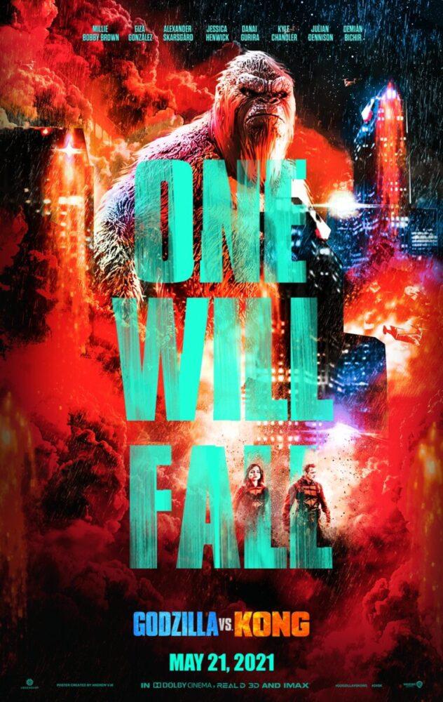 Godzilla vs. Kong - otrzymaliśmy nowe plakaty filmu