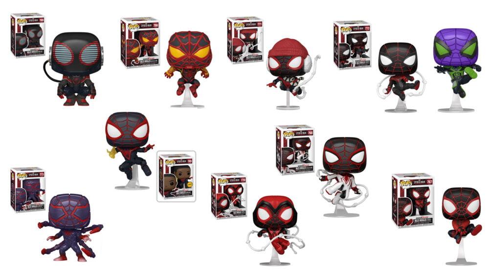 Funko prezentuje 10 nowych figurek z gry Spider-Man: Miles Morales!