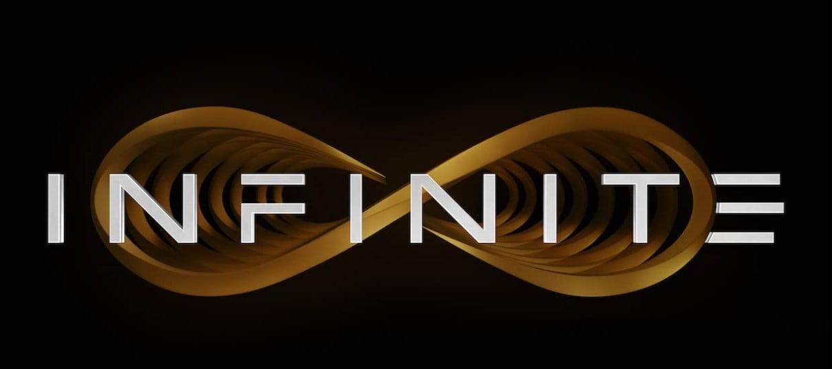 logo filmu infinite science fiction 2021