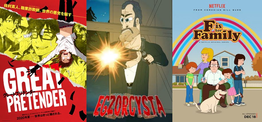 Najlepsze seriale animowane dla dorosłych netflix