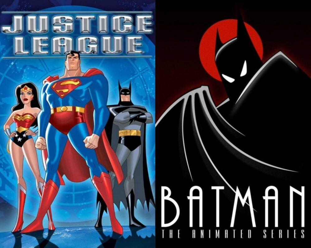 animowane seriale DC