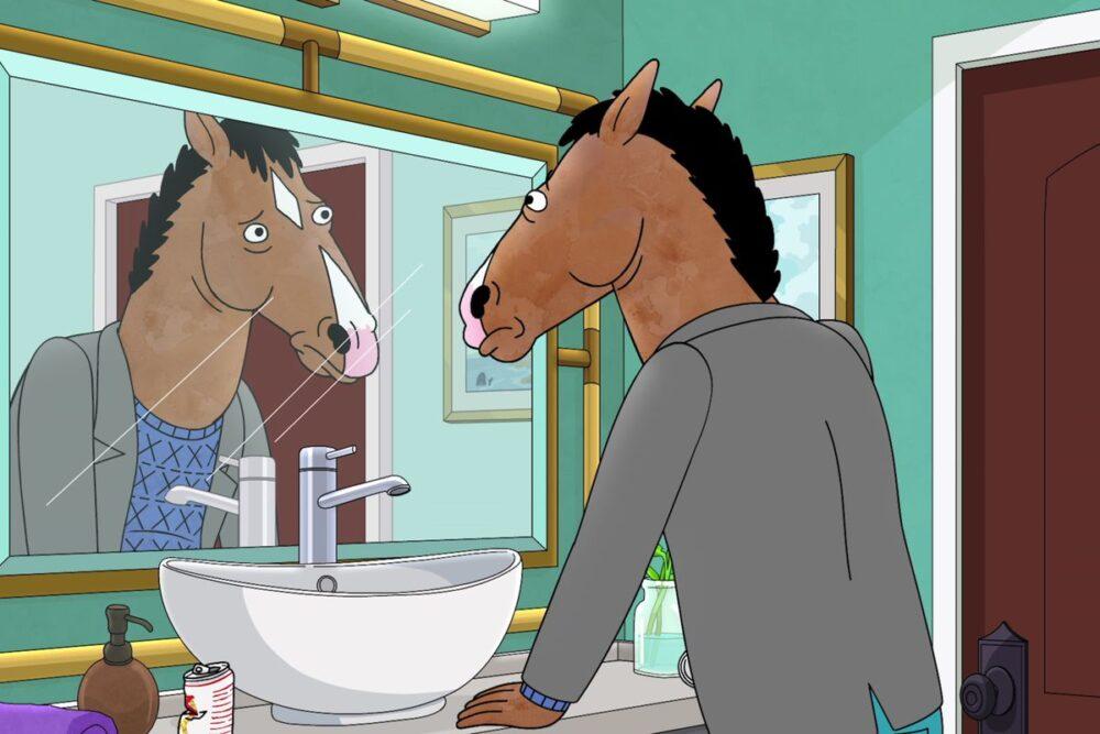 bo jack horseman koń animacja