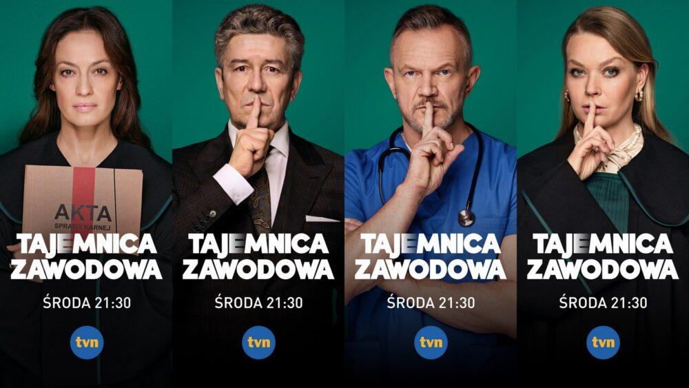 Tajemnica Zawodowa - Nowy serial od dziś w TVN!