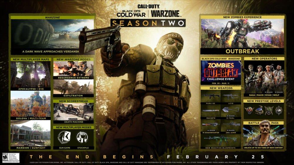 Call of Duty: Black Ops Cold War - nowy zwiastun drugiego sezonu!