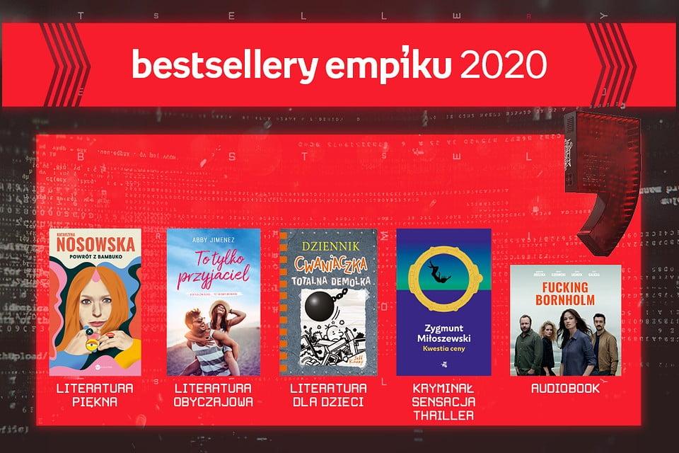 Bestsellery Empiku 2020 - znamy laureatów plebiscytu!