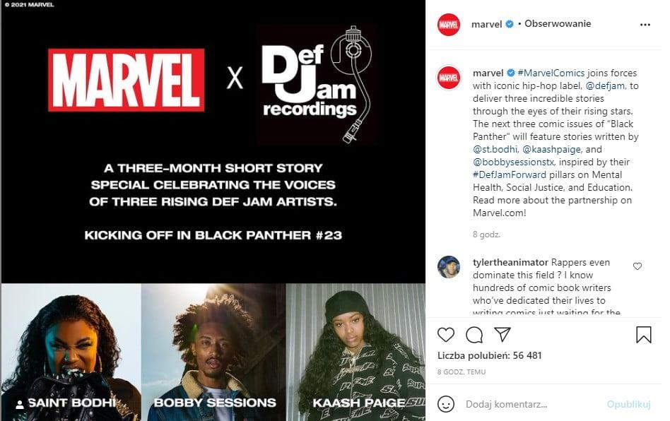 Marvel i Def Jam łączą siły!