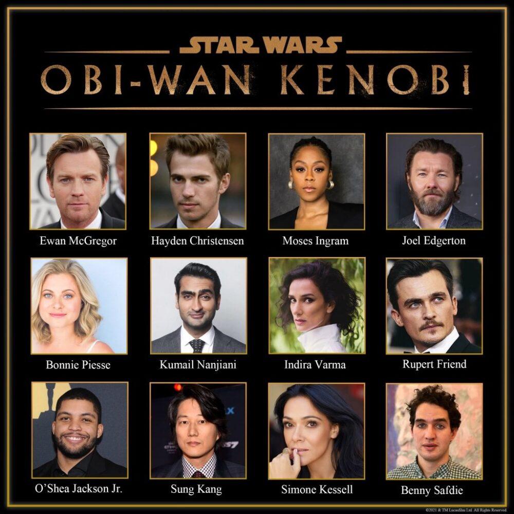 Obi-Wan Kenobi -poznaliśmy oficjalną obsadę serialu Disney+!