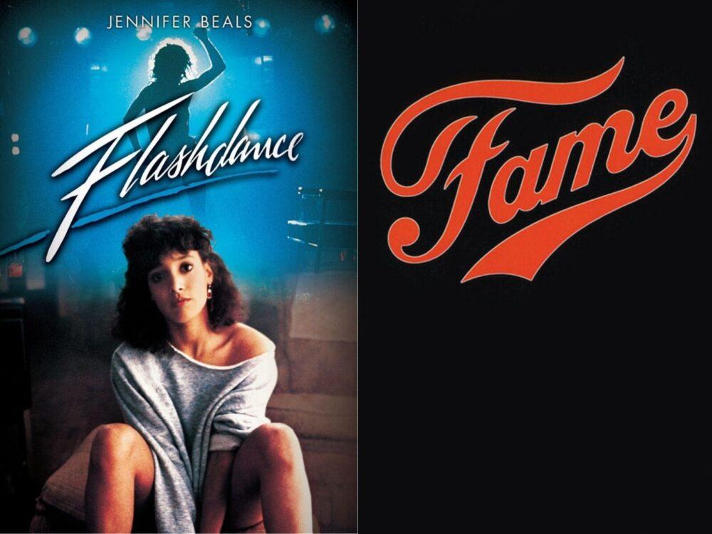 plakaty produkcji o tańcu
