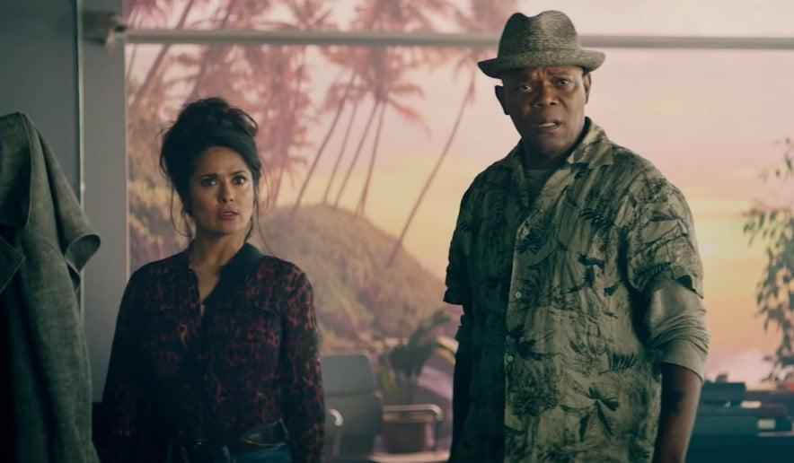bodyguard i żona zawodowca zwiastun kadr hayek jackson